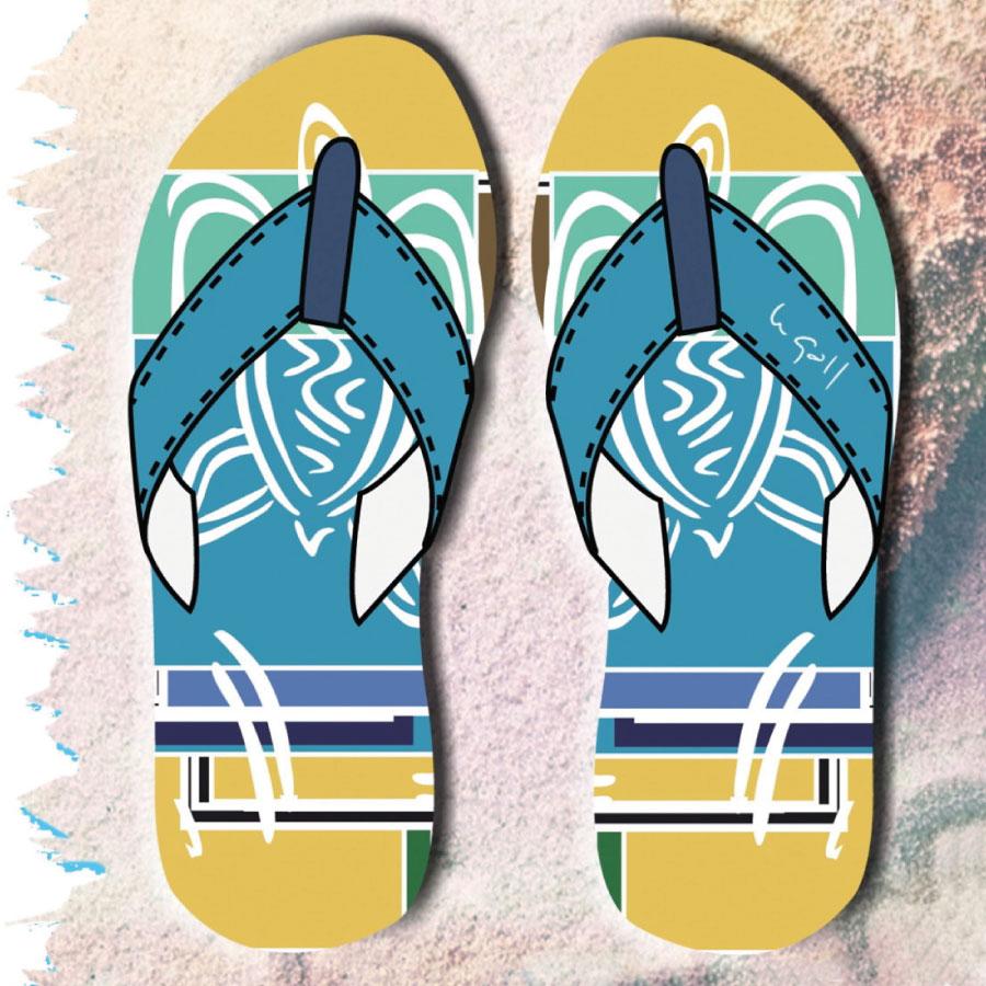f74e691b5550a4 FLIP FLOP MEN TOMMY – POLARIZED – HAWAII – FLTO AC 108 – LeGall Clothing